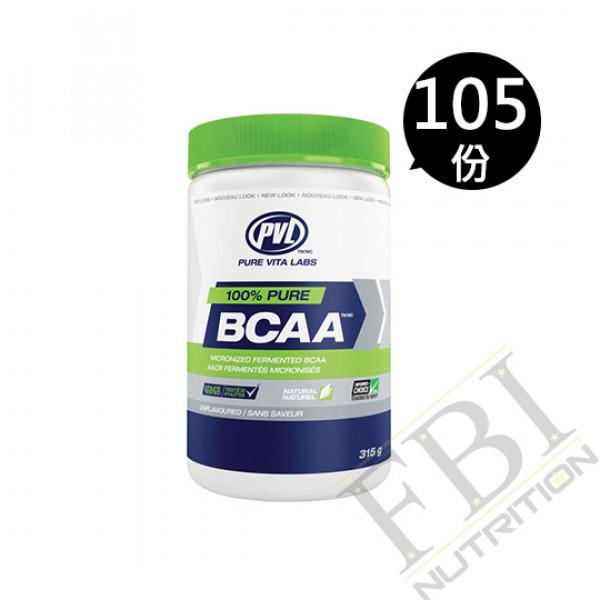 PVL PURE VITA LABS FERMENTED BCAA 支鏈胺基酸 315公克