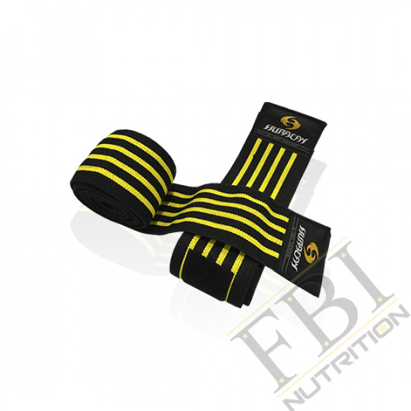 HURACAN 颶風 專業級重量訓練健身護膝束帶