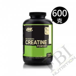Optimum Nutrition Creatine Powder肌酸 600g