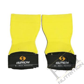 HURACAN 專業級重量訓練健身拉力帶-黃色