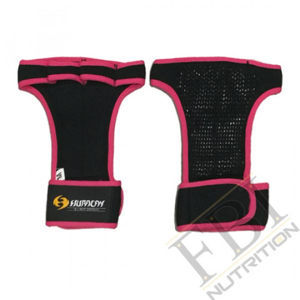 Huracan 颶風CrossFIT 專業健身拉力帶手套_桃粉紅