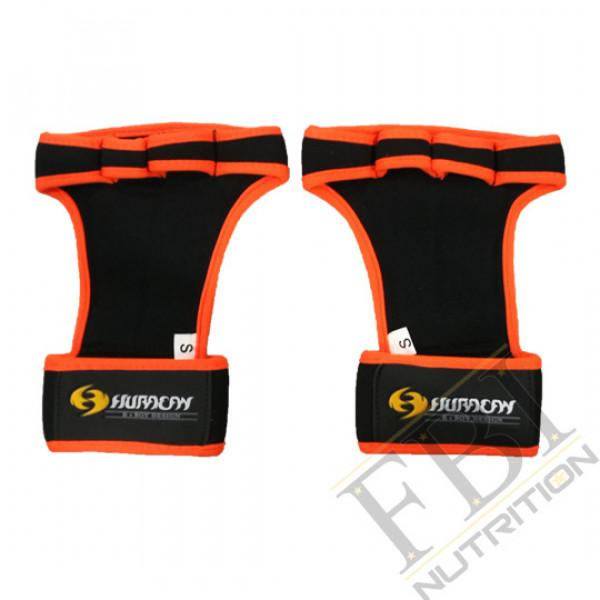 Huracan 颶風CrossFIT 專業健身拉力帶手套_亮橘