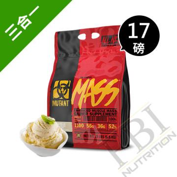 【加量版】Mutant Mass 加拿大 惡魔專利熱量10項全能乳清蛋白 17磅