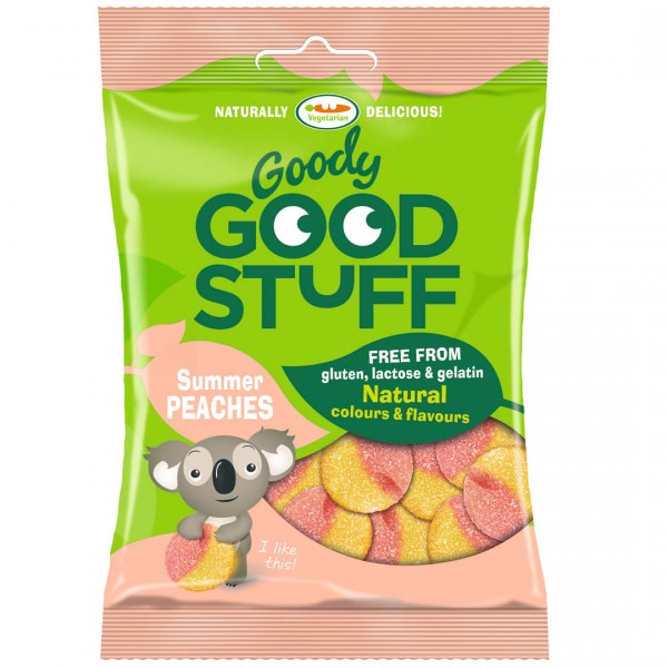 Goody Good Stuff 歐洲純素QQ軟糖(夏日蜜桃口味)(150g)<純素>