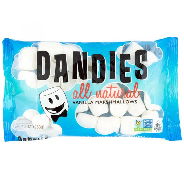 DANDIES 丹迪斯純素棉花糖 (經典香草口味)(大顆)(283g) <純素無五辛無酒>