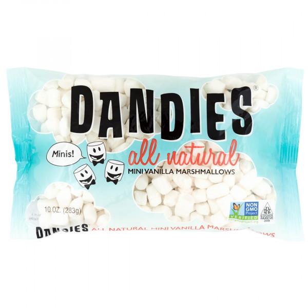 DANDIES 丹迪斯純素棉花糖 (迷你版香草口味)(283g) <純素無五辛無酒>