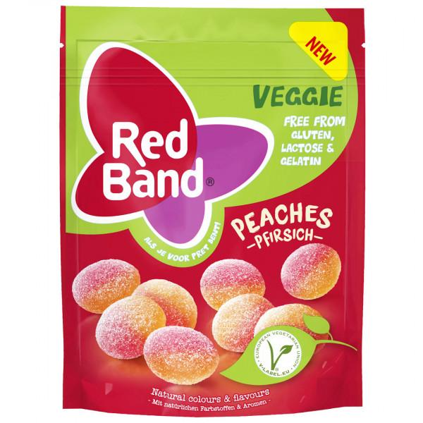 Red Band Veggie 香甜蜜桃QQ軟糖(150g)<純素>