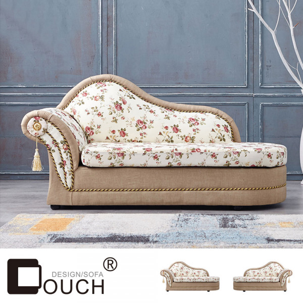 【COUCH】金典玫瑰貴妃坐躺椅(左右型可選)