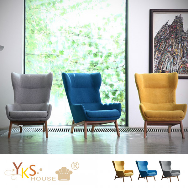 YKS-喬村。沐光系列老虎椅/造型椅(三色可選)