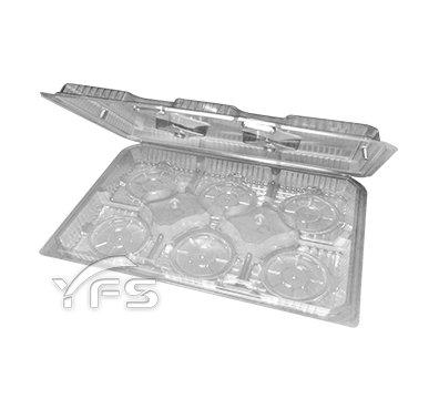V12六入蛋塔盒(自扣式蓋)
