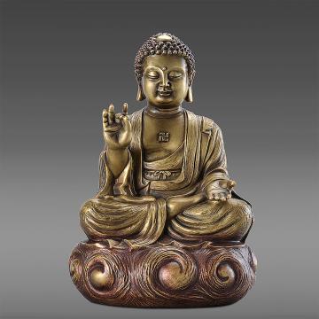 【佛陀】釋迦牟尼佛 銅雕