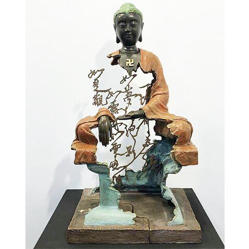 金剛經 佛陀  釋迦牟尼佛~林韋龍(林宇坤) 全球限量6件原作銅雕