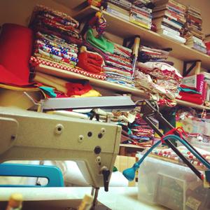 娃果工作室一角