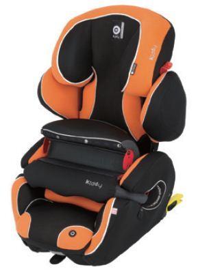 奇帝kiddy可調式fix汽車安全座椅-迦法柑橘