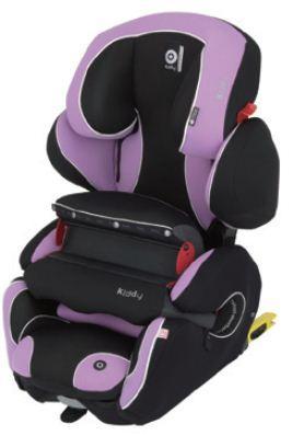 奇帝kiddy可調式fix汽車安全座椅-薰衣草紫 加贈奇帝冷暖坐墊