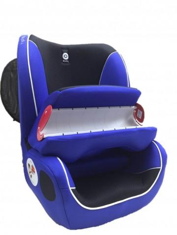 奇帝kiddy甲殼蟲汽車安全座椅 - 鏡湖藍
