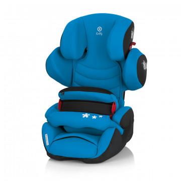 奇帝kiddy可調式汽車安全座椅-夏天藍(含前置護體)