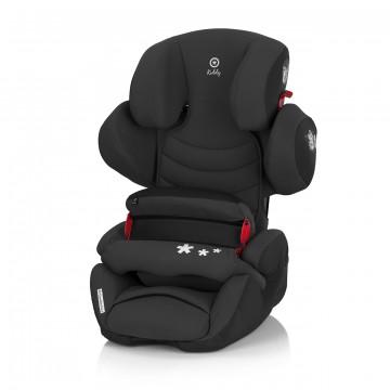 奇帝kiddy可調式汽車安全座椅-神秘黑(含前置護體)