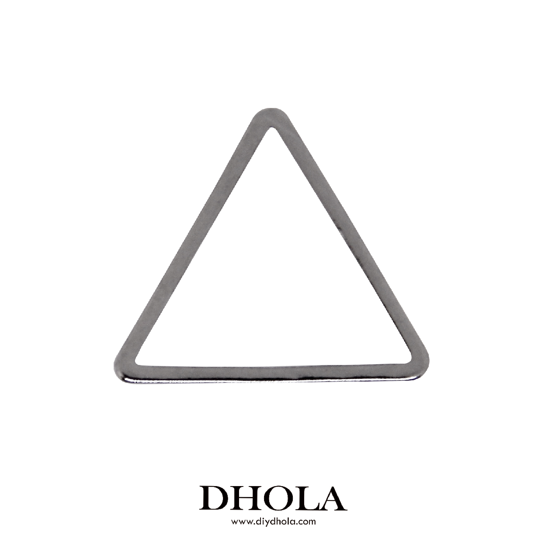 銅切管正三角形 - 黑鎳色