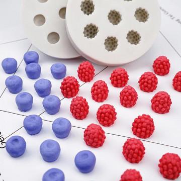 N99藍莓 樹莓矽膠模