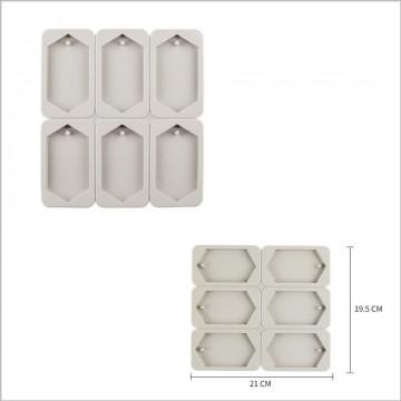 904-菱形香磚矽膠模