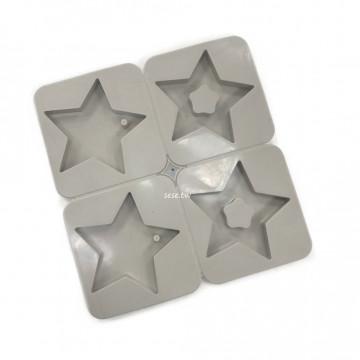 908-星星香磚矽膠模