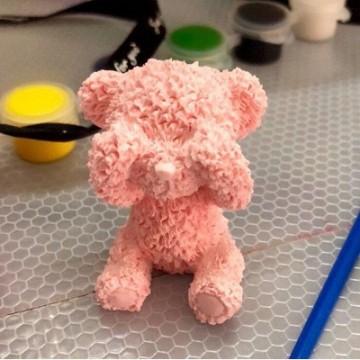 138-捂眼泰迪熊模
