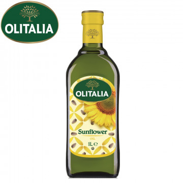 Olitalia奧利塔葵花油1L(原裝食品級)