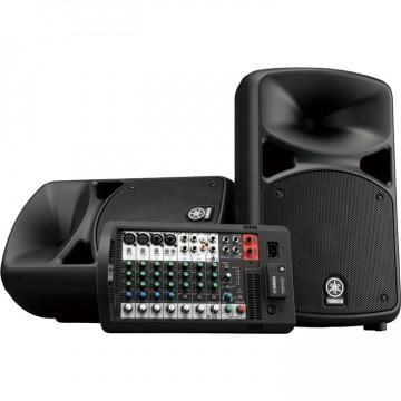 YAMAHA STAGEPAS 600BT 可攜式 PA 系統 加贈喇叭架2支,麥克風1支