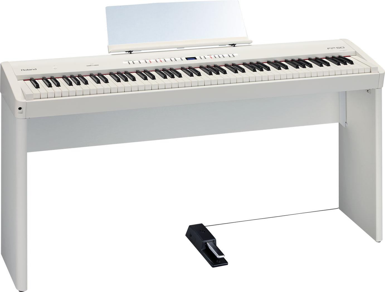 Roland FP-50 數位鋼琴 含原廠琴架