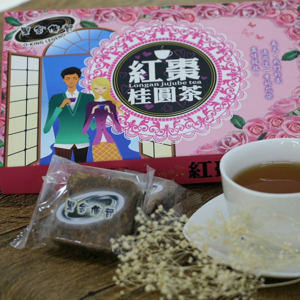 黑糖紅棗桂圓茶(禮盒)