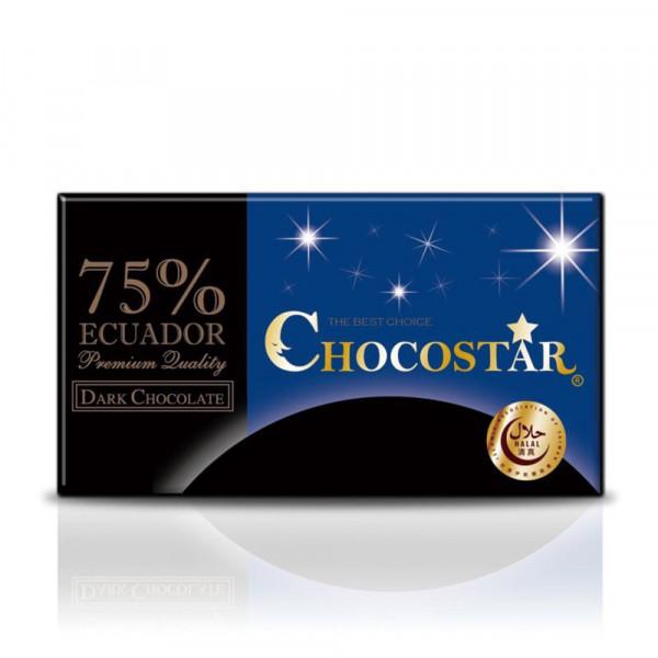 巧克之星-厄瓜多75%黑巧克力