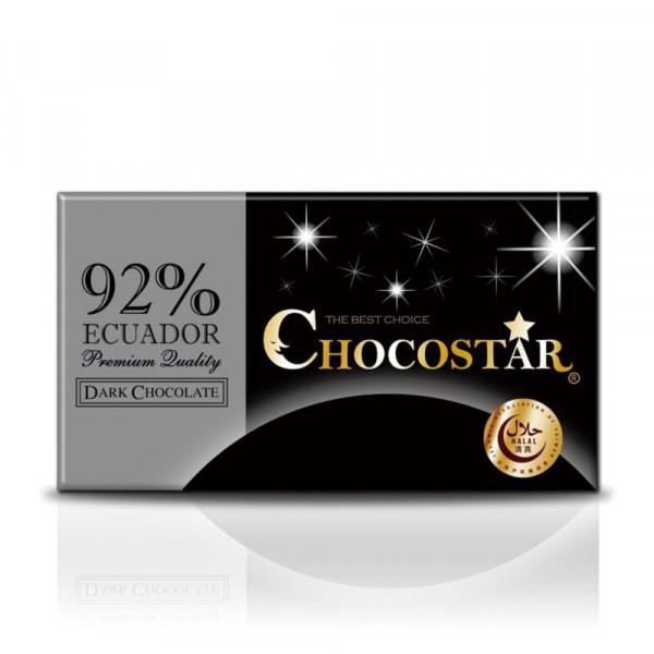 巧克之星-厄瓜多92%黑巧克力