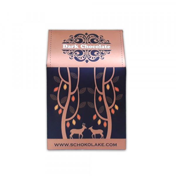 65%迦納黑巧克力鈕扣-100g