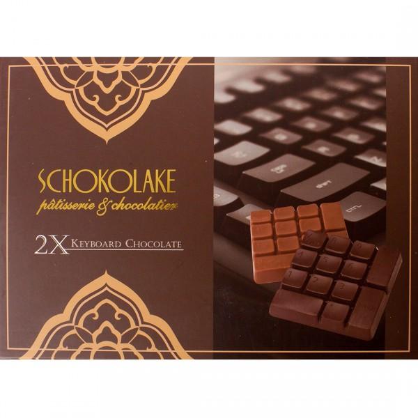 雙色鍵盤巧克力