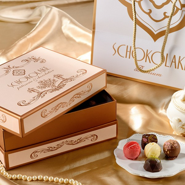 雅典娜經典禮盒24入-限量純手工巧克力