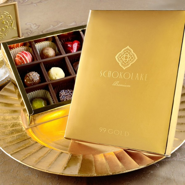 法式戀金禮盒12入-限量純手工巧克力
