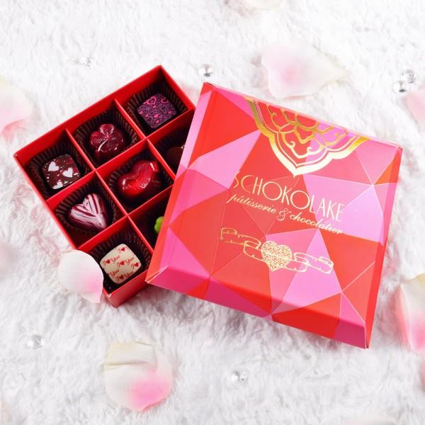 法式甜心繽紛禮盒9入-限量純手工巧克力