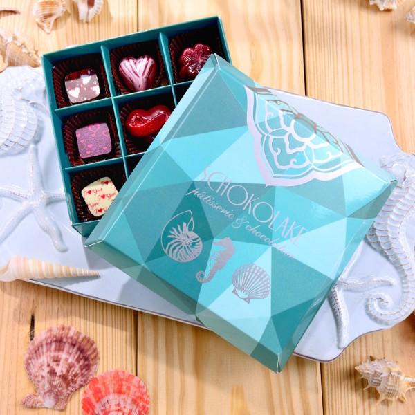 海洋微風禮盒9入-限量純手工巧克力