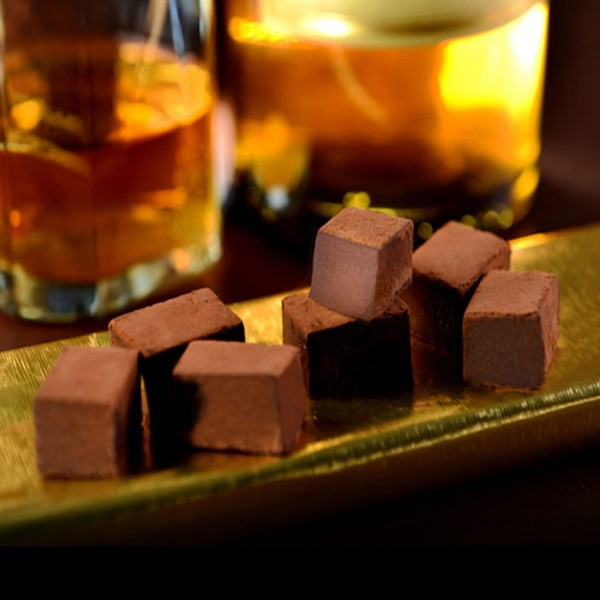 醇酒生巧克力