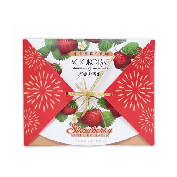 白巧克力草莓雪球-90G