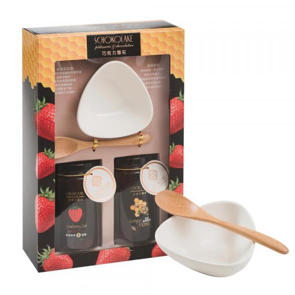 雲莊蜂蜜/草莓果醬精裝禮盒