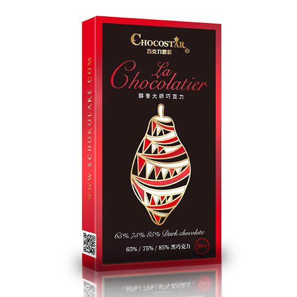 醇香大師 黑巧克力系列-三入組