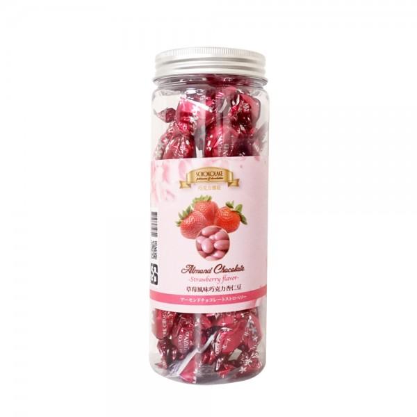 草莓巧克力杏仁豆125G