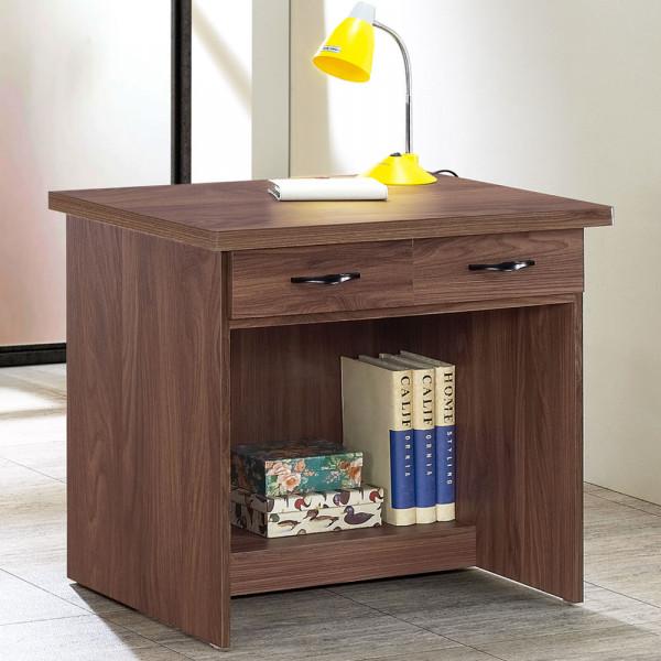 書桌 Yostyle 尚恩2.7尺二抽書桌