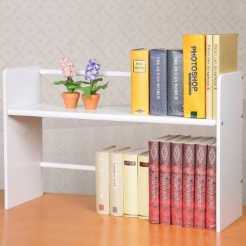 伸縮式桌上書架 Yostyle 和風伸縮式桌上書架
