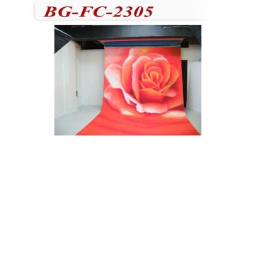 攝影棚手工花色背景布-360cm*600cm
