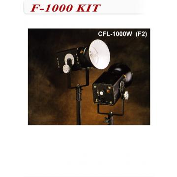 石英燈-1000W 雙燈組 (附燈架)