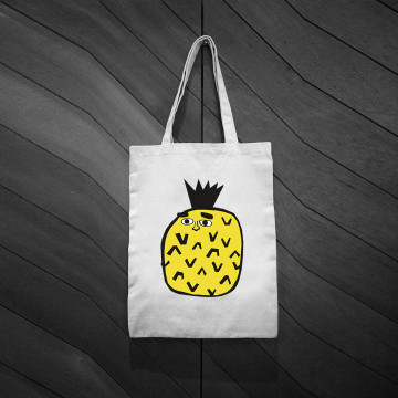 ‧BestFriend Tote Bag / Giant Pineapple
