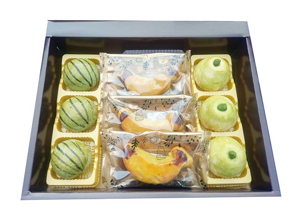 格麥蛋糕,水果造型月餅,西瓜酥,柚子酥,西瓜餅,香蕉酥,香蕉餅,蛋黃酥,鳳梨酥,月餅,糕點,中秋節,秋節禮盒